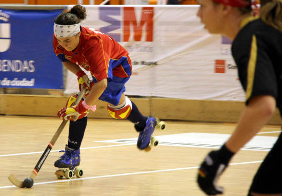 Hockey femenino enano mayor